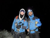 25. Pete & Dave geared up for the challenge. Time 1am