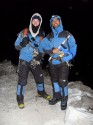 26. Pete & Dave geared up for the challenge. Time 1.01am