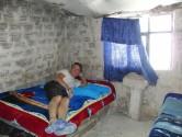 68. Pete in salt hotel bed