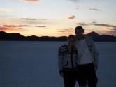 82. Us at sunset