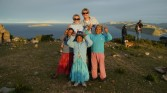 Isle de Sol - Local kids who charged us for this photo