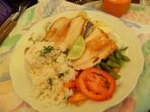 Lake Titicaca - Copacobana Village popular trout dish