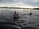 Swimming with Pink Dolphins