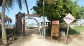 Island Hotel entrance